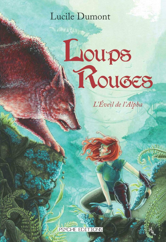 Couverture Loups Rouges - Tome 1