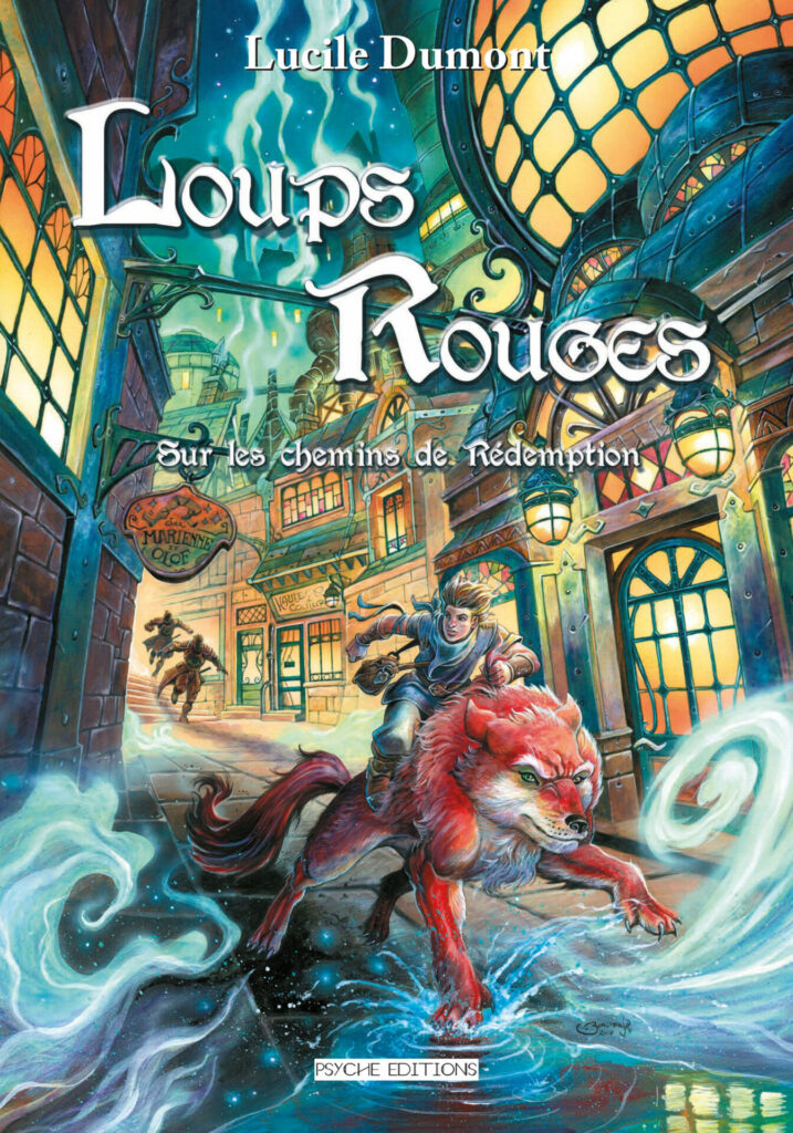 Couverture Loups Rouges - Tome 2