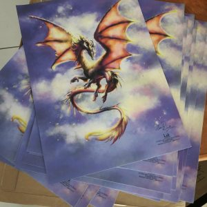 Poster toile Dragon Lok Citara
